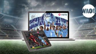 Viaplay (m. Premier League) rykker ind på Waoo TV-Boks
