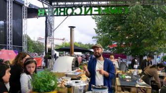 En av matdelarna på Gothenburg Culture Festival. Foto: Daniel Castro, Göteborg & Co