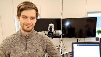 Fredrik Lidström håller på att avsluta sitt ettåriga arbete på Arho i Hallsberg, och börjar snart som supportansvarig på systerbolaget Cobot Sweden.
