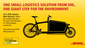 One small logistical solution from DHL