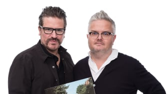 Sigge Eklund och Jan Gradvall