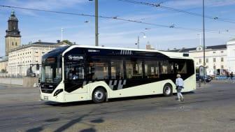 Elbussen på linje 55 har under våren använts som mobil mätstation för partiklar i Göteborgsluften
