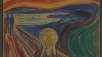 The Scream by Edvard Munch. Photo: Munchmuseet