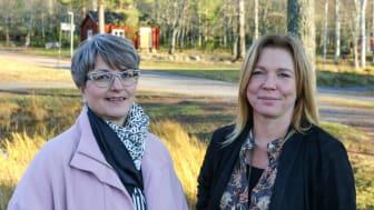 Barbro Renkel, VD vid eXpression Umeå och Marlene A Johansson, forskare på RISE.