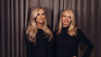 VD Natalie Tideström Heidmark och COO/vice VD Nicolin Lillhage, United Screens