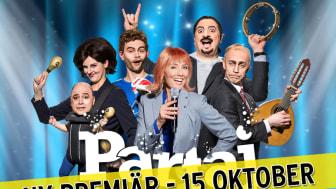 Nya Cirkus försenat – premiären av Partajs scenshow flyttas fram en vecka