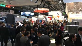 Formnextmässan i Frankfurt lockar många företag och besökare från hela världen.