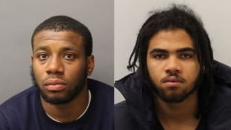 Convicted: Mickell Branett (Left) and Asharn Willimas (right)