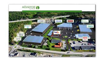 Pilkington etablerar sig i Mölnlycke Logistikpark