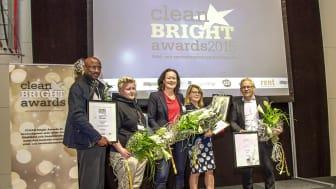 Vinnarna utsedda i CLEAN Bright Awards 2015