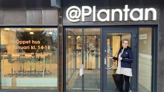 Marie Bernhold, koordinator på @Plantan hälsar välkommen.