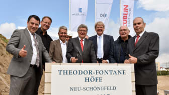 Grundsteinlegung Theodor-Fontane Höfe (Copyright: DIE AG)