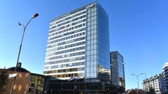 Ombruk av byggematerialer i KPMG-bygget i Oslo kan gi stor klimagevinst og millionbesparelser viser en fersk rapport. Foto: Multiconsult/Cato A. Mørk
