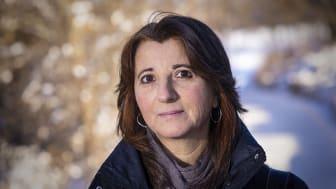 Stefania Barca blir Uppsala universitets fjärde gästprofessor på Zennströms klimatprofessur med inriktning klimatledarskap. Foto: Mikael Wallerstedt