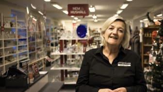 Anette Alm Gustafsson, verkställande chef Erikshjälpen Second Hand
