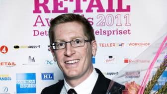 Vinnare Årets utmanare Retail Awards 2011