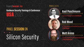Hardwear.io: Panel Session on Silicon Security