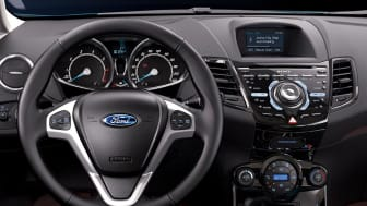 """Nye Ford Fiesta med sikkerhetsteknologien """"Active City Stop"""""""