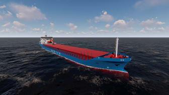 Arrivas nye bulkskip (Ill.: Arriva)