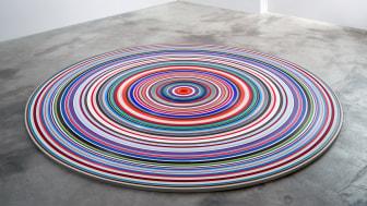 »TARGET/Ground«, 2016, PVC, ca. ø 250 x 2,2 cm von Jürgen Paas (Foto: Günther Uecker))