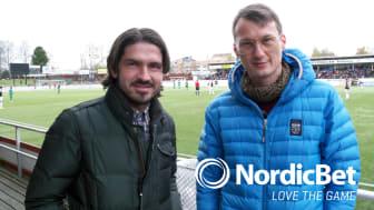 NordicBet gör webbserie med Bojan och Sladjan