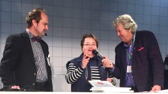 Fr. v. Pelle Agorelius, Bitte Persson och Ulf Elfving. Foto: Lotta Bonthelius
