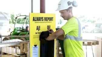 Nudging skapade säkrare byggarbetsplats – fick 87 procent fler att rapportera