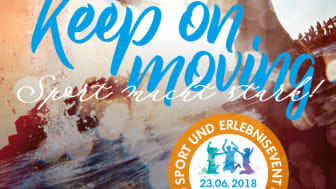 KEEP ON MOVING Sport und Erlebnisevent am Pilsensee, Juni 2018