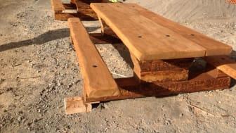 Skogshuggarbänk från Woodwork AB