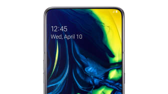 Galaxy A80_Ghost_White_front