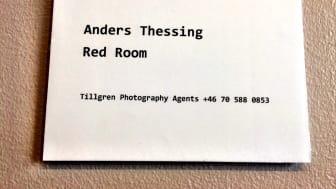 Bildtext till det fotografiska verk av Anders Thessing som visas på Falafelbaren i Stockholm hela sommaren.