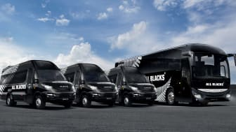 """Iveco """"European Supporter"""" for All Blacks"""