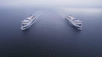 Grün auf ganzer Linie: mit Scandlines' runderneuerter Hybridflotte ab nach Skandinavien