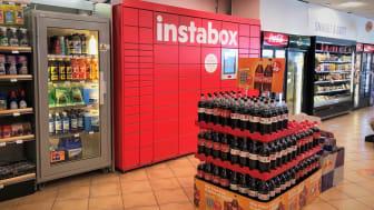 Nu kommer Instabox till Circle K