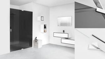 Premiär för Nordens mest exklusiva duschväggar