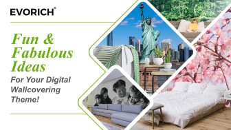Fun & Fabulous Ideas For Your Digital Wallcovering Theme!