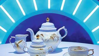 Sanssouci meets Rosenthal Heritage: verspielt-barocke Bühne für den opulenten Dekor Midas.