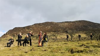 Tune in to www.midandeastantrim.gov.uk/StPatricksDay2021 and Council's social media channels for a selection of music and dancing, including performances from Portglenone Comhaltas Group at Slemish Mountain