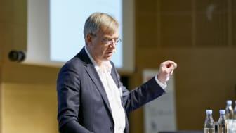 Per Falholt, formand for ATV's Science & Engineering-komité, fremlagde de første resultater fra undersøgelsen på ATV's Teknologidag.