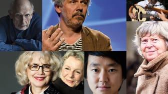 PC Jersild, Daniel Alfredson,  Ali Sabah Trio, Marika Lagercrantz, Elise Einarsdotter, Patrik Lundberg och Bodil Jönsson är några av de som medverkar under Kulturdygnet i Villan.