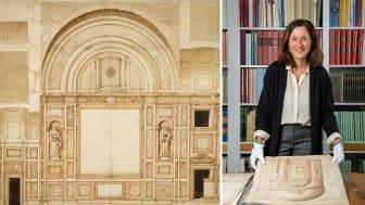 Francesco da Volterra, Santa Pudenziana, Cappella Caetani, 1591. Anna Bortolozzi, docent i konstvetenskap vid Stockholms universitet. Foto: Cecilia Heisser/Nationalmuseum.