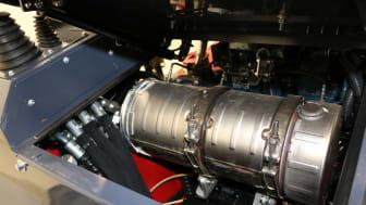 Kompaktlaster - Flexitrac 1238 - Avgasrening 01