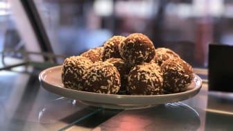 Fira chokladbollens dag med Fitnessfika & Lakritsfabriken!