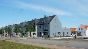 Townhouse i Skanör.