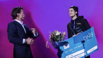 Ali Popal utses till Årets medarbetare på Nordic Choice Hotels Vinterkonferens.