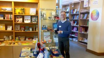 Claude Million, neuer Co-Geschäftsführer der Buchhandlung am Goetheanum (Foto: Sebastian Jüngel)