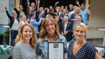Maria Lidgren, Eva Nyh Hederberg och Johanna Lundin har sett till att BizMakers medarbetare utbildats inom mångfald och jämställdhet.