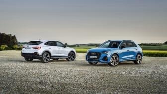 Audi laddar med fler hybrider. Säljstart för Q3 TFSI e och Q3 Sportback TFSI e