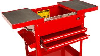 Professionella skåp, bord och verktygsvagnar från Verktygsboden, del 1