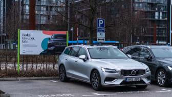 M, Volvo Car Mobility öppnar 10 stationer i Helsingborg och utökar de 158 stationerna i som nu finns i Malmöregionen och Lund